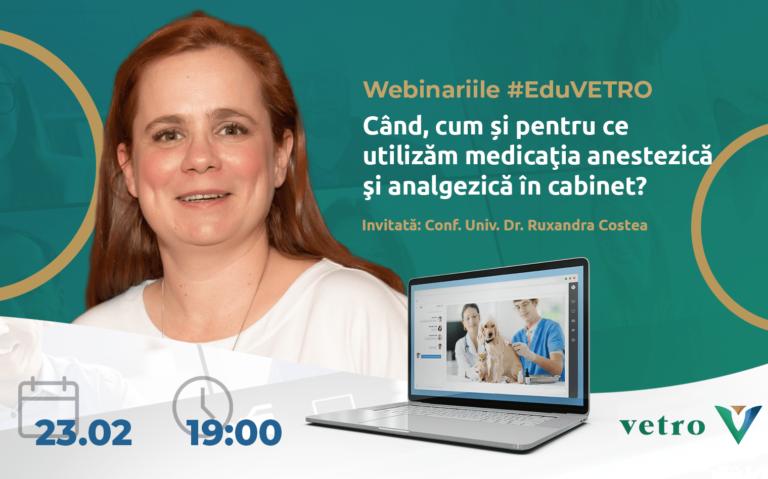 Cand, cum si pentru ce utilizam medicatia anestezica si analgezica in cabinet Conf. Univ. Dr. Ruxandra Costea