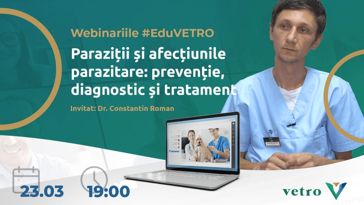EduVetro: Paraziții și afecțiunile parazitare: prevenție, diagnostic şi tratament